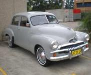 Grey FJ Holden